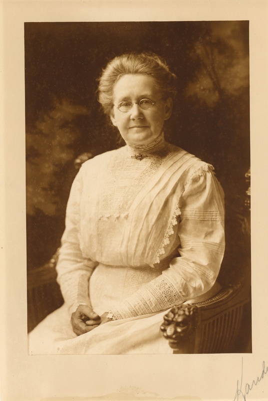 Mary Hadley in 1921