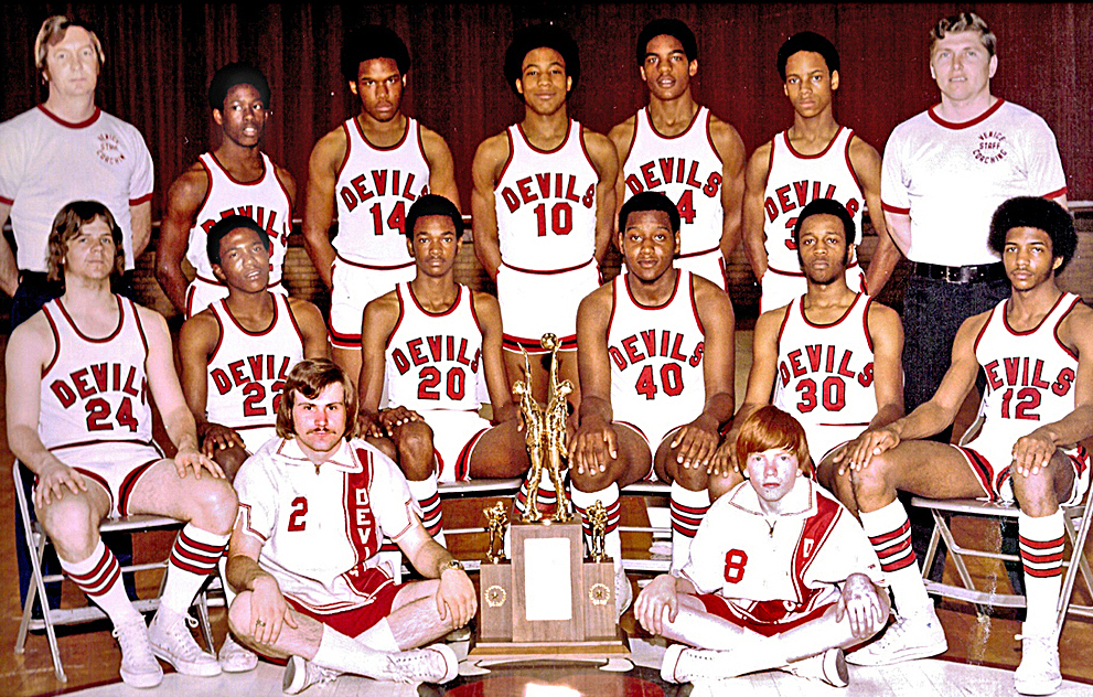 1974-75 Venice High School State Boy's Basketball Champions
