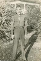 Family photograph of Bob Bieser in World War II U.S. Army uniform