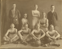 1921 CTHS basketball team
