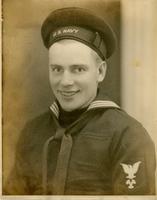 U.S. Navy Machinist's Mate Lester Mack Springman, 1944