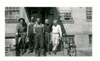 1952 Men Posing During Standard Oil Strike