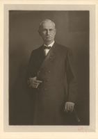 Wilbur Clay Hadley in 1921, Founder and President of The State Bank of Collinsville