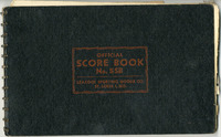 1953 Collinsville Indians Scorebook