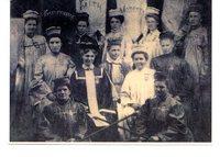 Twelve Women in Regalia