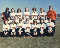 2001 Edwardsville High School Women's Tiger Softball Team