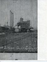 Postcard of a coal mine in Glen Carbon, Illinois