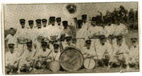 1920s Formal Band Photograph of Standard Oil Company Band