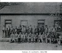 Employees of the St. Louis Brick Company before 1904