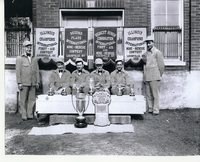 Coal Miners Rescue Squad 1930 Louisville, KY competition winners.