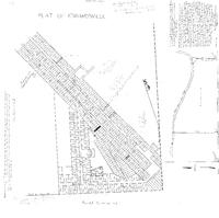 1825 Plat Map of Edwardsville