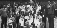1986-87 Venice High School State Boy's Basketball Champions