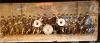 1950s Standard Oil Company Red Crown Band Photograph