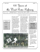 """April 2017 Issue of """"100 Years at the Wood River Refinery"""""""
