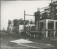 Trumbles 1 and 2 Foundation System for Extension   during the 1917-1918 Construction of the Wood River Refinery
