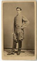 Photograph of E.W. Mudge in Confederate Uniform.