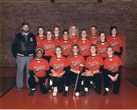 Photograph of the 1994 Women's Tiger Softball Team