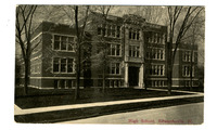 1913 Postcard of the Original Edwardsville High School Building