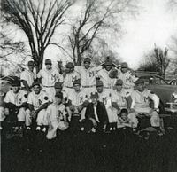 1955 Maryville Red Sox Team Photograph