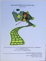 "2008 Program for Edwardsville High School's Performance of  ""The Wiz"""
