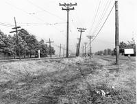 Route 66/Nameoki Road near its turn onto Madison Avenue in circa 1933
