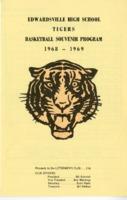 1968-1969 Edwardsville High School Basketball Souvenir Program