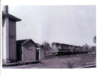 Litchfield and Madison Train Engine