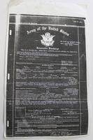 Discharge papers of Bethalto Resident and World War II Veteran Pvt. Edgar Wells