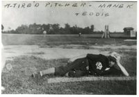 Maryville Baseball Pitcher Laying on Field