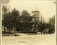 Dr. Gustave Schroeppel's home on West Main Street in Collinsville in 1919