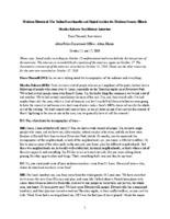 Martha Roberts Oral History