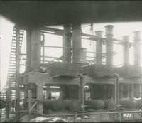 Trumble 2 Fractionator System Separator Side  during the 1917-1918 Construction of the Wood River Refinery