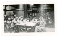1952 Six Men Sitting at Table During Standard Oil Strike