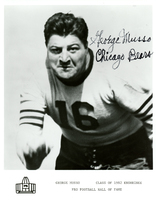 Autographed photo of George Musso