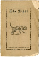 """""""The Tiger, vol 2"""" Student Publication of Edwardsville High School from December 1911"""