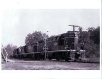Southbound Illinois Central Railroad Train