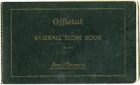 1948 Collinsville Indians Score Book