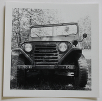 Truck Driven by Sakasitz in West Germany in the 1960s