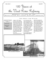 """August 2017 Issue of """"100 Years at the Wood River Refinery"""""""