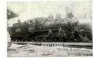 Illinois Central Railroad Steam Engine No. 480