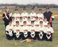 2000 Edwardsville High School Women's Tiger Softball Team