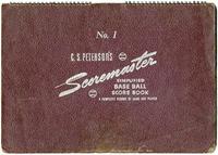 1949 Collinsville Indians Scorebook