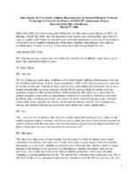 John Meisel Oral History