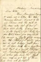 Letter from H. Mudge to E.W. Mudge, January 31st, 1860