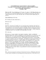 Patrick Riddleberger Oral History