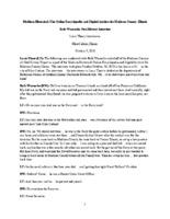 Beth Warnecke Oral History
