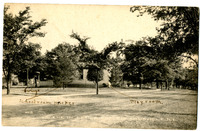 1908 Postcard of Leclaire in Edwardsville, Illinois