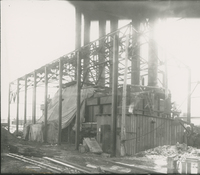 Boiler House Framework Stacks and Settings  during the 1917-1918 Construction of the Wood River Refinery