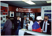 1990s Amoco Open House Candid Photograph