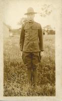 Alfred in WWI uniform